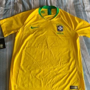 Nike Brazil 2018 authentic jersey. Size medium
